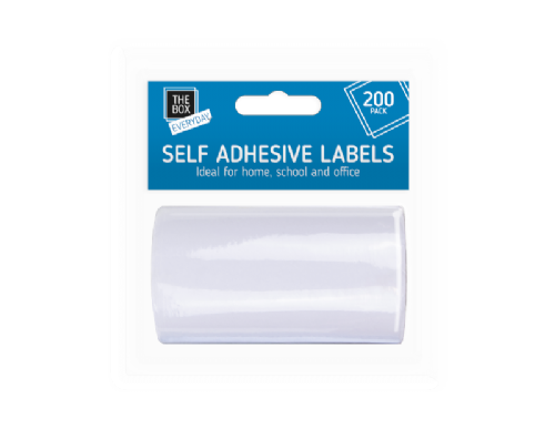 Self Adhesive Labels - 200 Pack